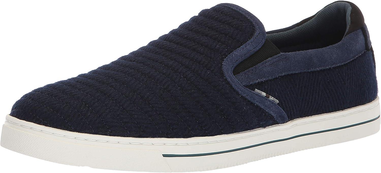 Ted Baker Men's DANIAM Sneaker, Dark Blue Wool, 10.5 Medium US B078T5D52X    Erste in seiner Klasse