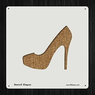 Best high heel shoe template Reviews