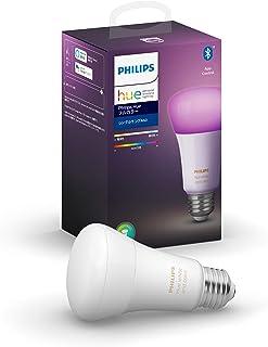Philips Hue フルカラー シングルランプ Bluetooth + Zigbee対応|E26 LED電球 スマートライト|1600万色、調光|Alexa、Amazon Echo 、Google Home対応|アレクサ対応|
