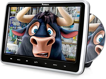 $139 Get NAVISKAUTO Car DVD Player with Inhalation Drive Support Sync Screen, AV in & Out, USB SD, Last Memory