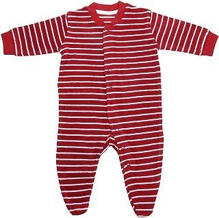 c0b4eb19fb Living Crafts Baby/Kinder Frottee-Schlafanzug Bio-Baumwolle
