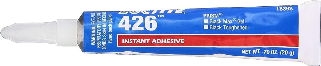 Loctite 229732 Black 18398 426 Prism Instant Adhesive Gel, 20 mL Tube