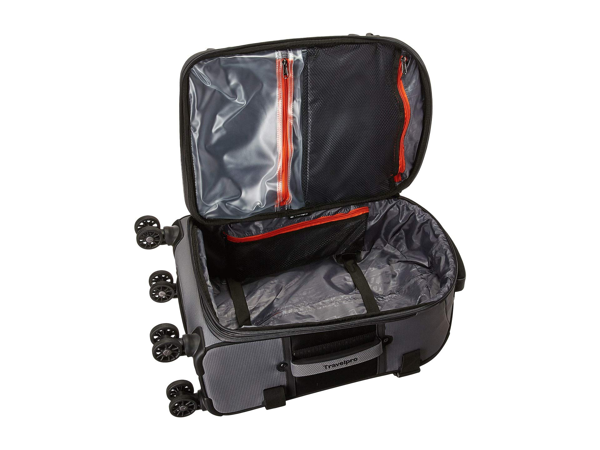 Travelpro Bold Gray black Spinner Expandable 21