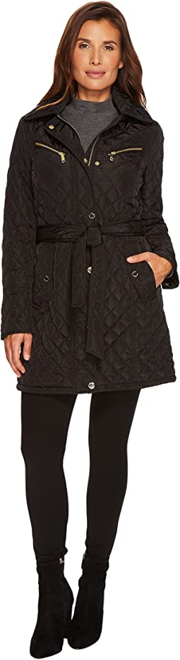 Belted Quilt with Hood M421257CZ