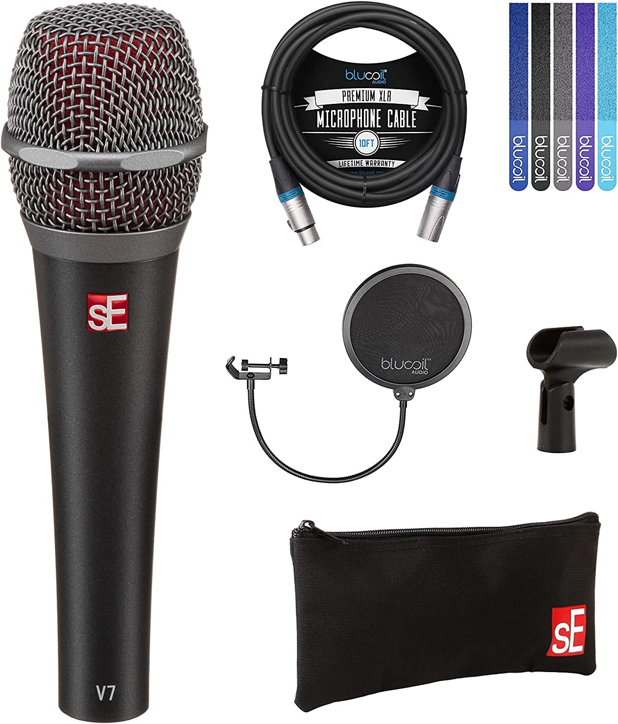 sE Electronics discount Albuquerque Mall V7 Supercardioid Dynamic for Microphone Vocals an