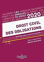 Livres Annales Droit civil des obligations 2020: Méthodologie & sujets corrigés PDF