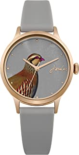 Joules Women's Analogue Quartz Watch with Silicone Strap JSL010ERG