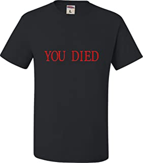 Adult You Died Funny Gamers T-Shirt