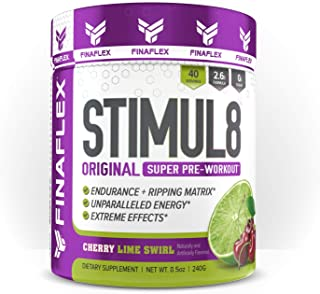 Redefine Nutrition Stimul8 Nutritional Supplements, Cherry Limeade, 6.5 Ounce