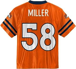 Outerstuff Von Miller Denver Broncos #58 Orange Youth Home Player Jersey