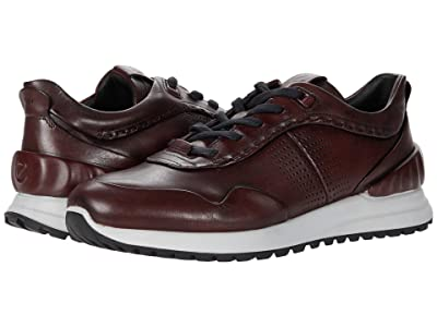 ECCO Astir Dress Sneaker (Syrah) Men