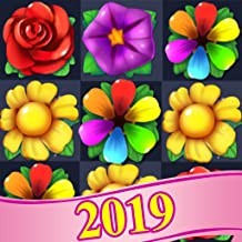 Blossom Flower Match 3 Puzzle Game Free