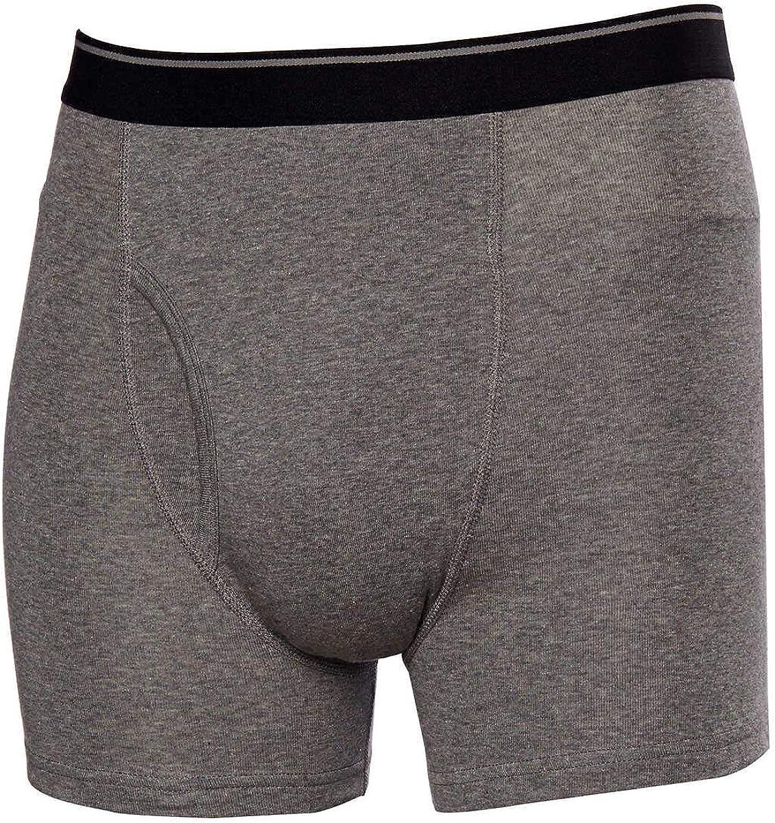 Kirkland Signature Men's Boxer Brief Pima Cotton 4 Pack