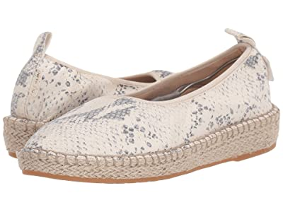 Cole Haan Cloudfeel Espadrille Loafers (Ivory/Grey Roccia) Women