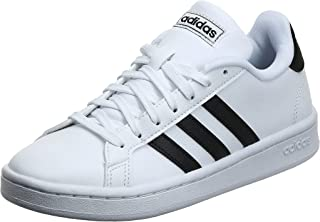 Adidas Girl's Grand Court Leather Tennis Shoes