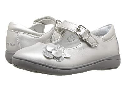 Stride Rite Ava (Toddler) (Silver Leather) Girls Shoes