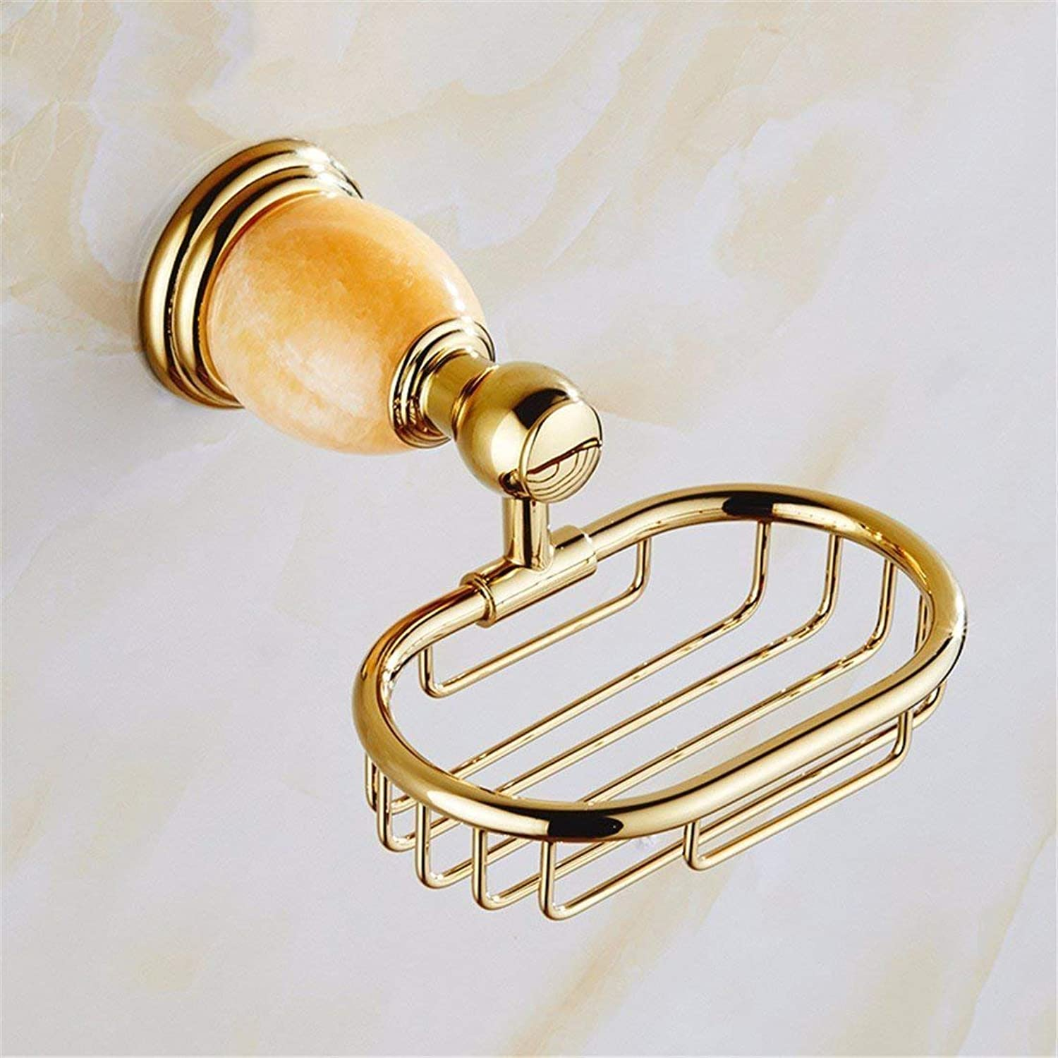 European Copper golden Yellow Jade Costume Accessories and Bathroom Door-Towels in Brushing The Teeth,Shopping Cart soap