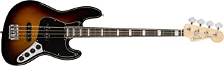 Fender American Elite Jazz Bass - 3-Color Sunburst with Ebony Fingerboard