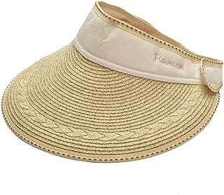 Sombrero de copa sombrero de sol sombrero de playa Sombrero de verano de paja Sombrilla UV