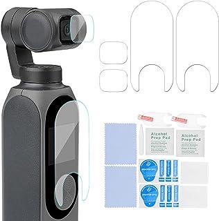 Bindpo Kamerahärdat glasfilm, hög hårdhet repfri handhållen kameralins skärmskyddsfilm högupplöst skärmskydd med hög överf...