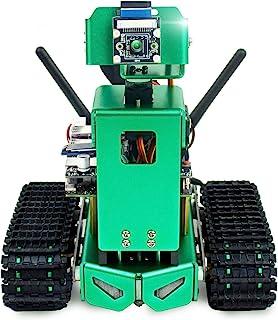 ربات AI Yahboom برای NVIDIA Jetson Nano ، کیت رباتیک برنامه نویسی با خلبان خودکار ، ردیابی اشیا ، تشخیص چهره و رنگ