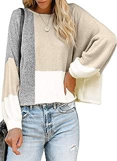 AlvaQ Women's Open Front Long Sweaters Cardigans Pockets