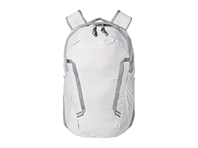 The North Face Vault Backpack (TNF White Metallic Melange/Mid Grey) Backpack Bags