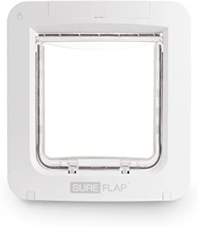 SureFlap Microchip Pet Door Connect Without Hub - App Controlled, White (4 x C Batteries Required)