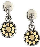 John Hardy - Dot Drop Earrings in 18K Gold