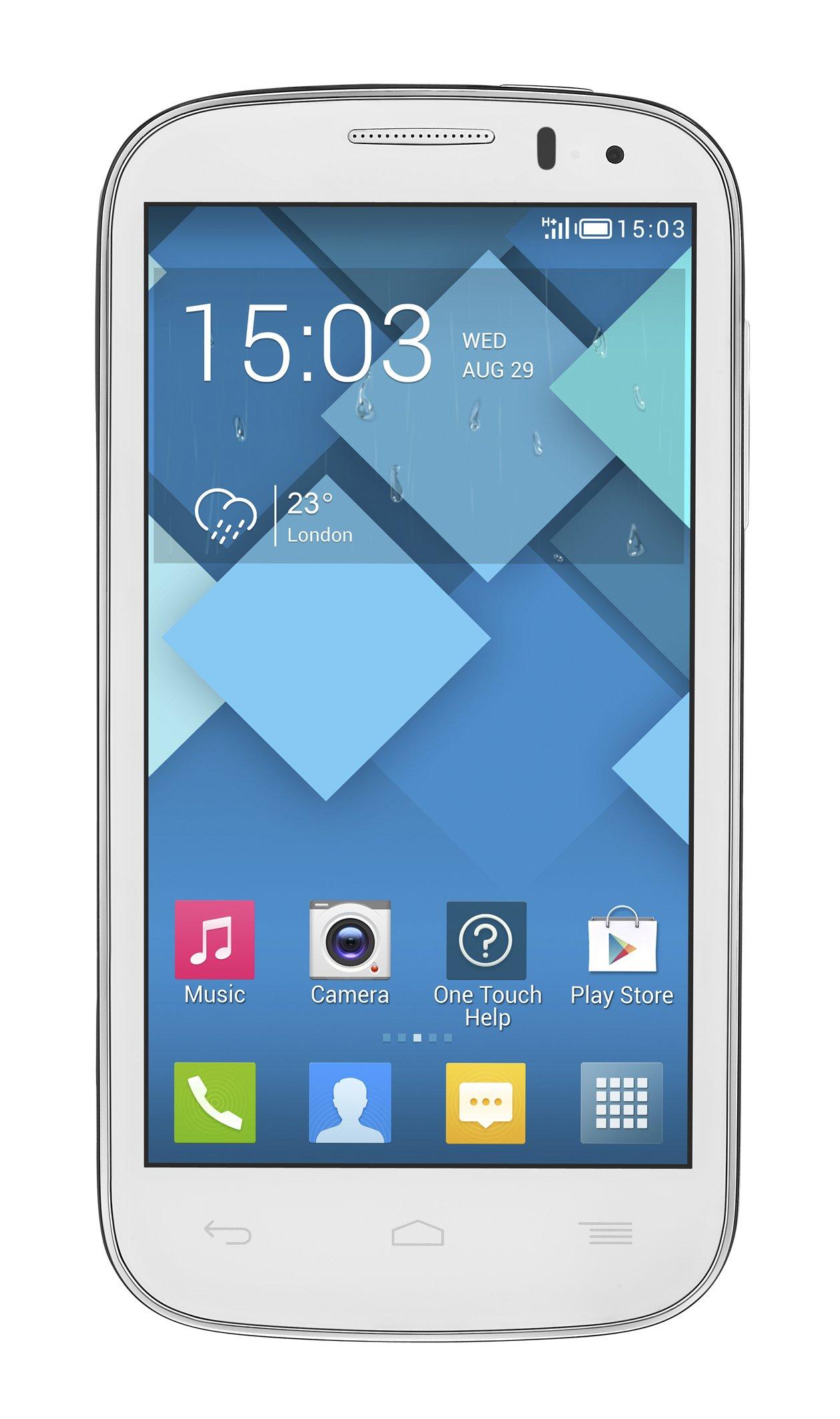 Alcatel OT-5036 Pop C5 - Smartphone Libre Android (Pantalla 4.5