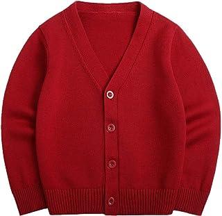 Pluszing Boys Girls Cartoon Knit Coat Jumper Cute Cardigans