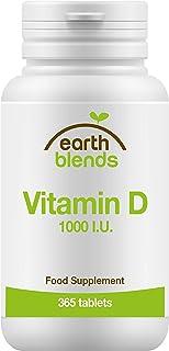 Earth Blends - Vitamina D 1000 I.U.. vitamina