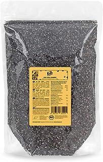 KoRo - Biologische Chia Zaden 1 kg - Natuurlijk Supervoedsel - Van gecontroleerde biologische teelt en zonder additieven