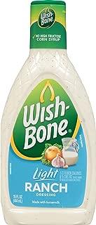 Wish-Bone Salad Dressing, Light Ranch, 15 Ounce