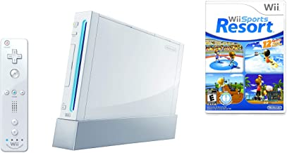 Wii Console w/ Bonus Wii Sports Resort & Wii MotionPlus Bundle (Renewed) photo