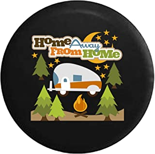 Pike Outdoors Full Color Sea Kayak on a Smooth Glass Sunrise at The Lake Spare Tire Cover fits SUV Camper RV Accessories Black 26-27.5 in