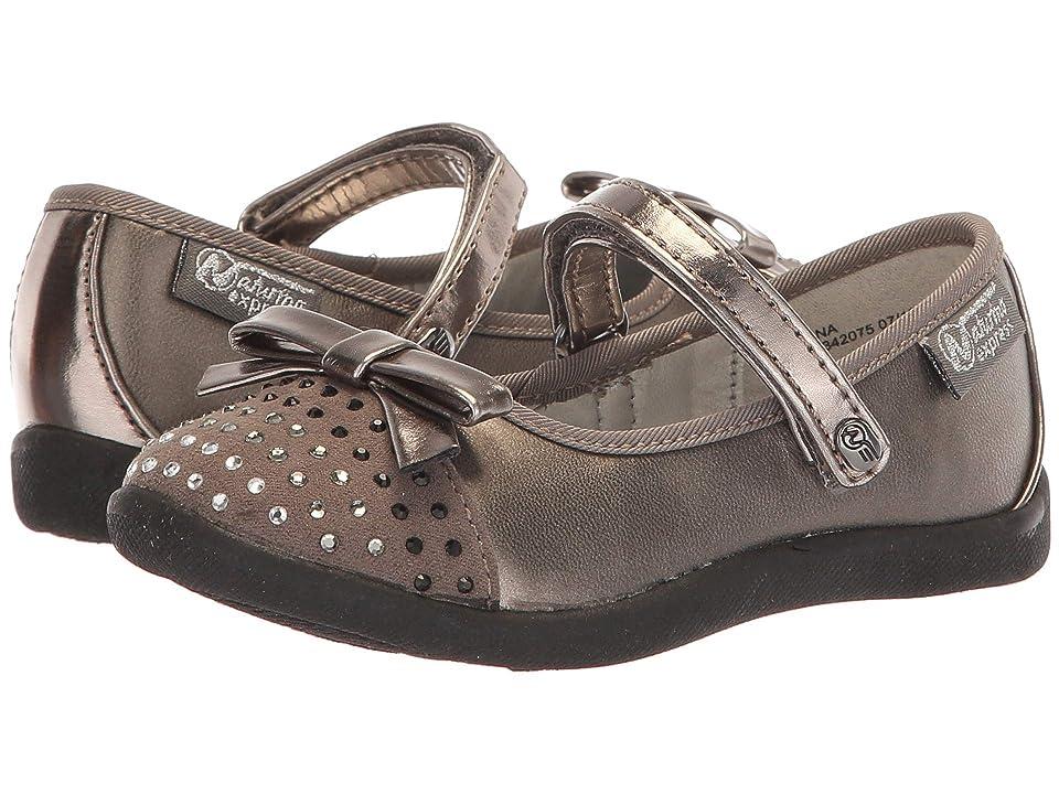 Naturino Express Silvana (Toddler/Little Kid) (Pewter) Girls Shoes