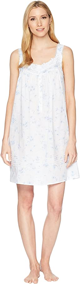 Eileen West - Ground Floral Short Nightgown