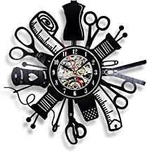 Racombo Sewing Tools Wall Vinyl Art Clock Scissors Kitchen Decor Interior Design - Tailored Best Gifts His Mom Dad