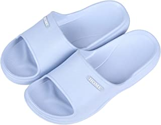 Women Men Shower Sandal Pool Slides Cushioned Lightweight Bath Slippers