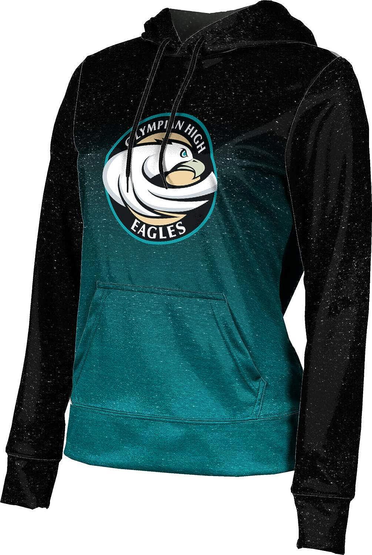 ProSphere Olympian High School Girls' Pullover Hoodie, School Spirit Sweatshirt (Ombre)