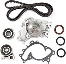 ECCPP Timing Belt Kit Including Timing Belt Water Pump with Gasket tensioner Bearing fits for 94 95 96 97 98 99 00 01 02 Lexus ES300/995 96 97 98 99 00 01 02 03 04 Toyota Avalon