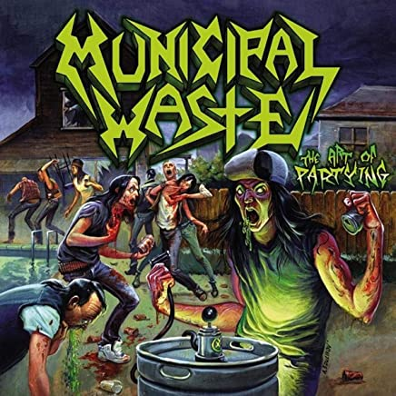 Municipal Waste - The Art Of Partying (2019) LEAK ALBUM