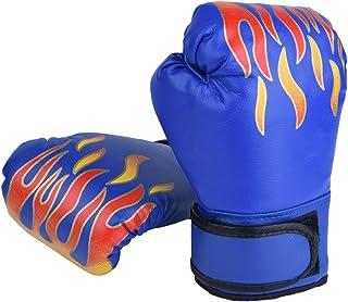 SANON Guantes de Boxeo para Entrenamiento Ni/ños Ni/ños Guantes de Boxeo Guantes de Entrenamiento PU Entrenamiento de Artes Marciales MMA para Hombres Y Mujeres de 3 a 12 A/ños