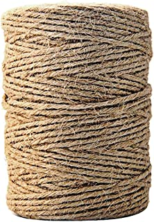 EAR PADZ Twine Natural Thick Jute String Arts and Crafts 6Ply Jute Rope for Floristry, Wedding Card, DIY Crafts, Gift Wrap...