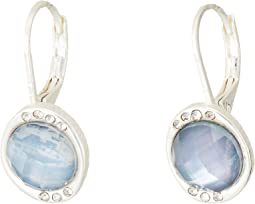 Stone Pave Drop Earrings