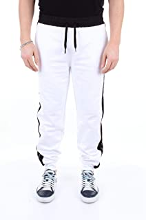 Luxury Fashion | Karl Lagerfeld Men 705009591908WHITE White Cotton Joggers | Season Outlet