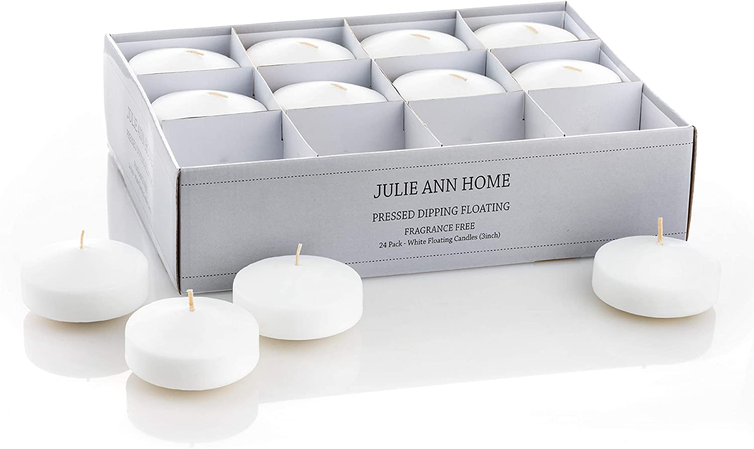 White Floating Candles 3 Inch – Discs Max 82% OFF Candle Now on sale Unscented P