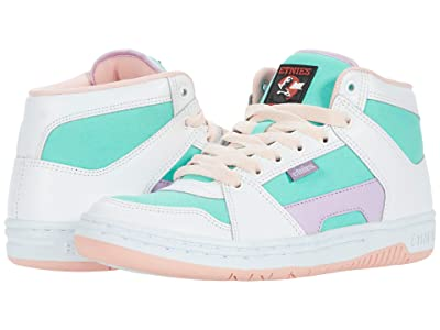 etnies MC Rap High (White/Green) Women
