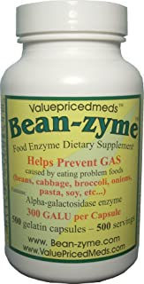 500 count Bean- zyme
